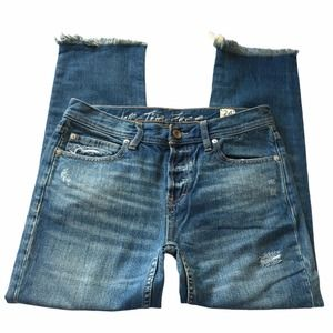 FP We The Free Button Fly Flap Pocket Jeans 24